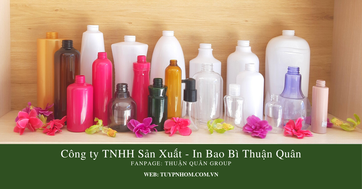 Chai nhựa PET 50ml 1000ml